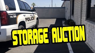 I WON A STORAGE AUCTION & HAD TO CALL THE POLICE