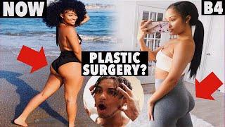 KENNEDY GOT WAY THICKER!   Kennedy Cymone Plastic Surgery?
