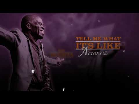Maceo Parker - Cross The Track (Official Lyric Video) 2020 online metal music video by MACEO PARKER