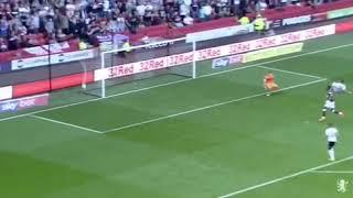 Anwar El Ghazi's First Goal For Aston Villa