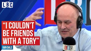 Iain Dale fiercely rows with Guardian writer who couldn't be friends with a Tory | LBC