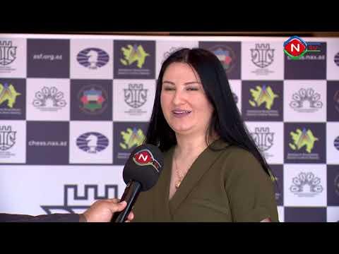 Şahmat üzrə qadınlar arasında Azərbaycan çempionatının qalibi bəlli olub - VİDEO 1