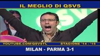 preview picture of video 'QSVS - I GOL DI MILAN - PARMA 3-1 - TELELOMBARDIA'