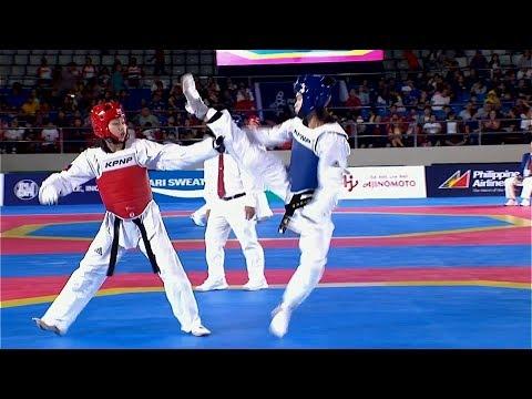 [Sport5]  Philippines vs Vietnam | Taekwondo W -62kg Quarterfinal | 2019 SEA Games