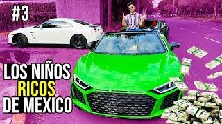 UN DIA CON LOS NIÑOS MILLONARIOS DE MEXICO