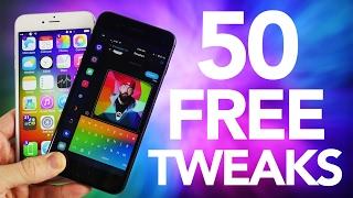 TOP 50 FREE iOS 10.2 Cydia Tweaks!