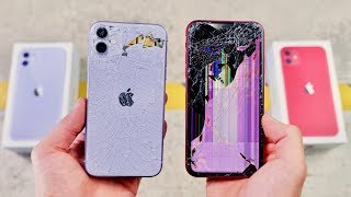 Apple iPhone 11 vs XR DROP & BEND Test - Thinner Toughest Glass