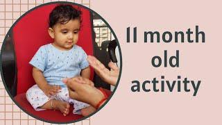11 MONTH OLD BABY ACTIVITIES| MILESTONE | ARNAV