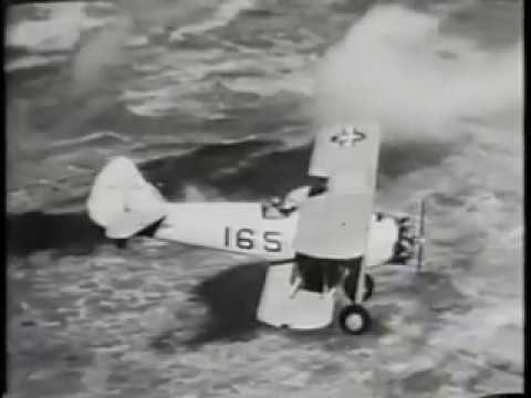 1945, U.S.N. First Flight Part 1