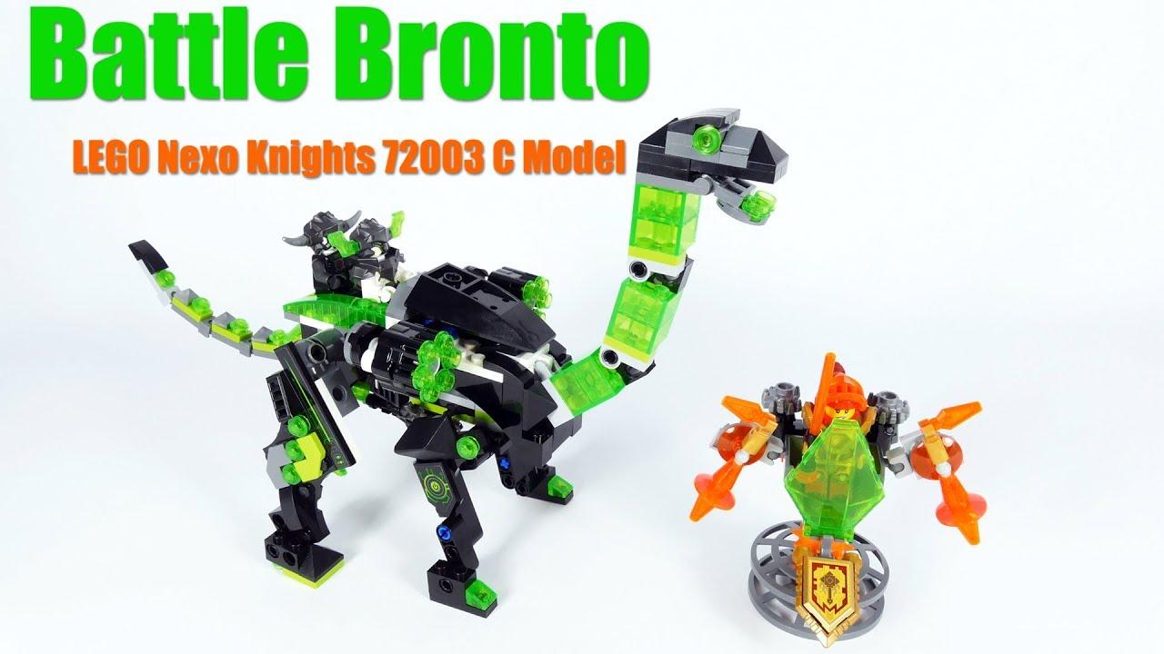 Battle Bronto - LEGO Nexo Knights 72003 C Model