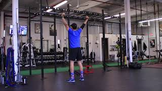 Squat Mobility BB Overhead 2
