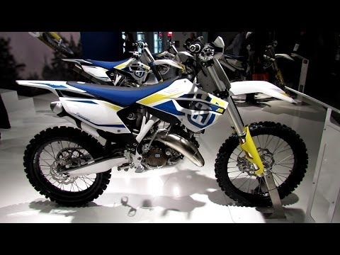 2014 Husqvarna TC 125 Walkaround - 2013 EICMA Milan Motorcycle Exhibition