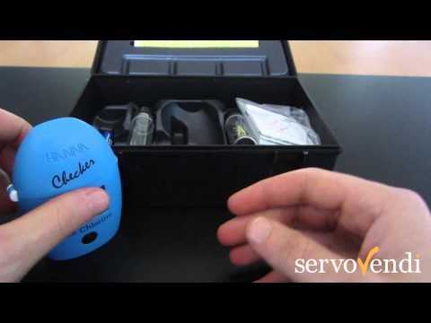 Unboxing Medidor de Cloro Libre digital Hanna Checker 0 a 2,50 ppm (HI 701)