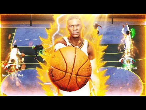 My RUSSELL WESTBROOK BUILD is ONE OF A KIND in NBA2K19
