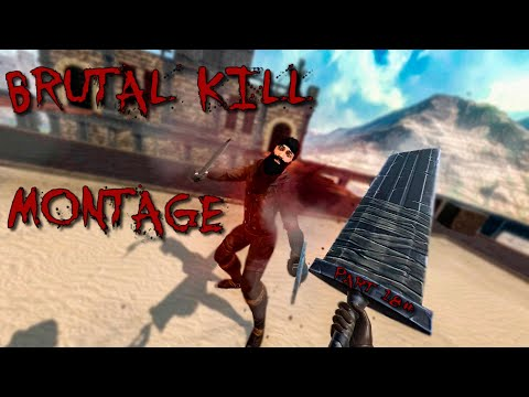 BRUTAL KILL MONTAGE #18 - Blade And Sorcery VR