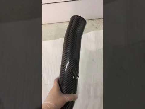 Carbon Fiber Intake Pipe For Nissan 350Z Hiwow Sport