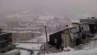 preview picture of video 'Nieve en Zumarraga I'