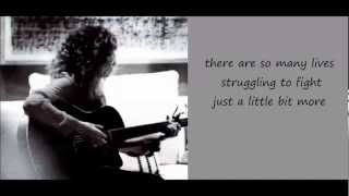 Tori Kelly - Fill A Heart Lyric Video
