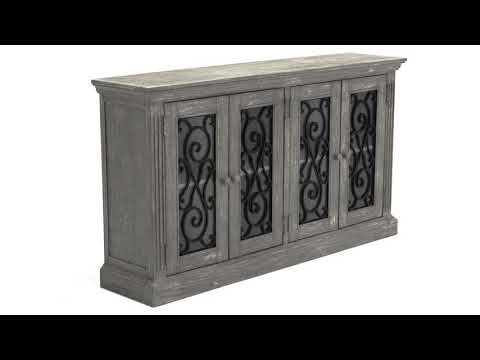 Mirimyn T505-962 Door Accent Cabinet