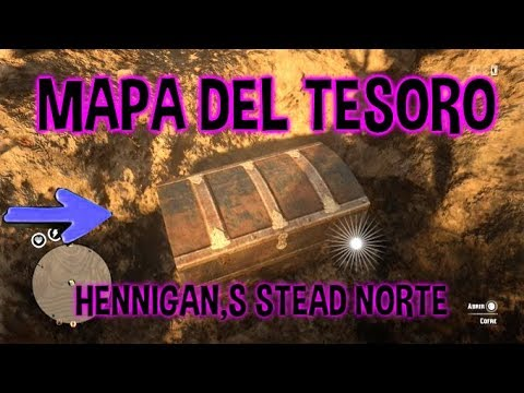 HENNIGAN,S STEAD NORTE MAPA DEL TESORO - TRASURE MAP HENNIGAN'S STEAD (NORT) RDR2 ONLINE LOCATION