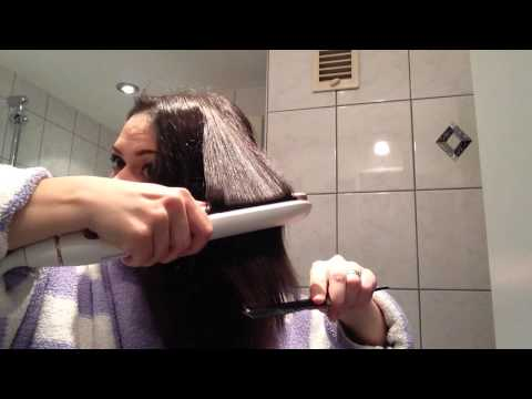 Eliza Testet! Philips HP8372 Haarglätter! Top oder Flop? Live review