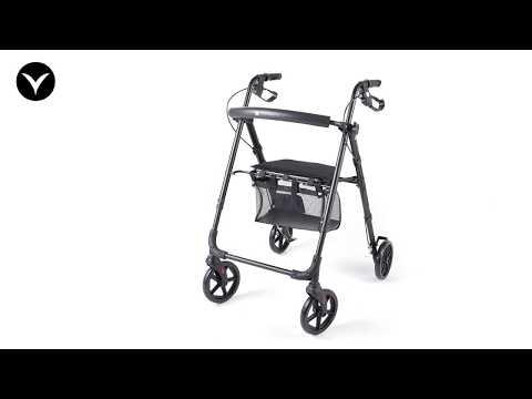 Vitility Rollator Compact Zwart