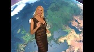 Лариса Сладкова без трусов! Жесть погода на 31 марта