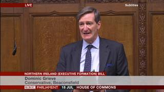 Oliver Letwin MP and Dominic Grieve MP on using an Amendment to the NI Bill to prevent prorogation