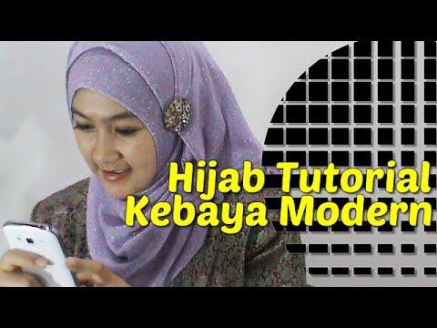 Video Hijab Tutorial Kebaya Modern by Anna