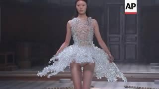 Iris van Herpen channels Tibetan zen with iridescent couture