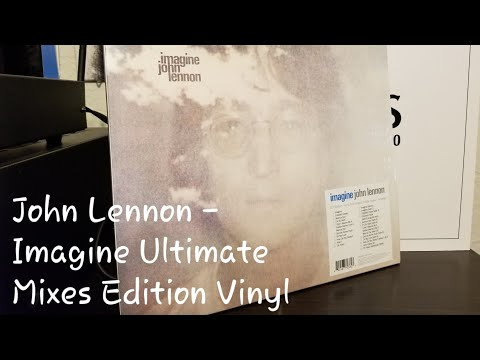 Unboxing: John Lennon - Imagine Ultimate Mixes Deluxe Edition Vinyl 2 LP (Apple 0602567703334)