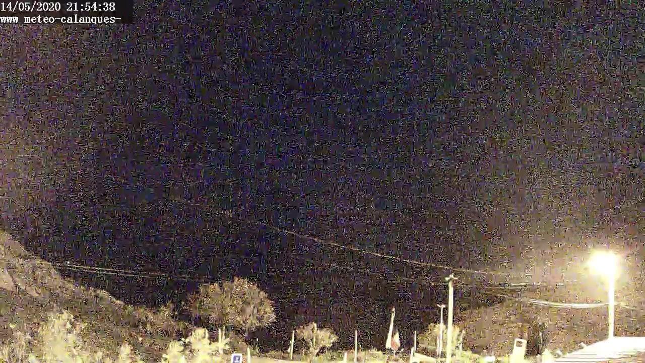 Webcam en direct de la calanque Samena de Marseille