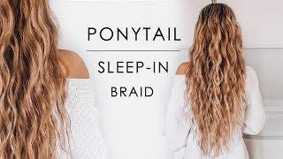 Sleep-in Ponytail Beachy Waves Hair Tutorial | Shonagh Scott
