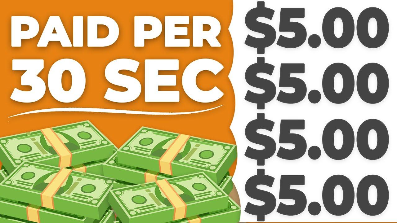 Make $5 Every 30 SECONDS!|FREE & WORLDWIDE (Make Money Online) thumbnail