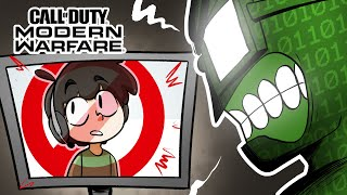 What happens if you confront a hacker in Modern Warfare?