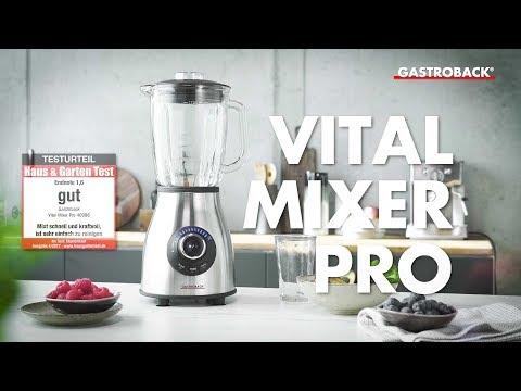 Gastroback 40986 Vital Mixer Pro