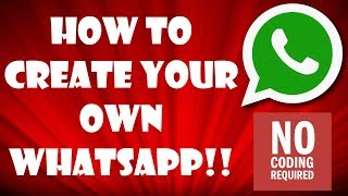 How to Make an Android Messenger App (In 3 Minutes!!)