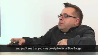 Blue Badge - the assessment and application process