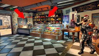 THEY HAD THE BEST GLITCH HIDING SPOT BEHIND THE CHEESE STAND??? HIDE N' SEEK ON *BLACK OPS 4*