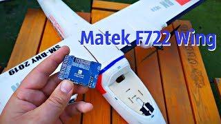 Установка Matek F722-Wing на Sonicmodell Binary 1200mm, доработка самолета и подключение FPV.
