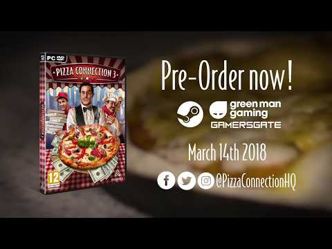 Pizza Connection 3 Gameplay Trailer EN thumbnail