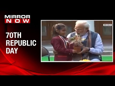 70th Republic Day: Prime Minister Narendra Modi interacts with young achievers