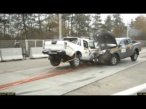 Car to Car crash test demonstrates the double standards on vehicle safety in Africa