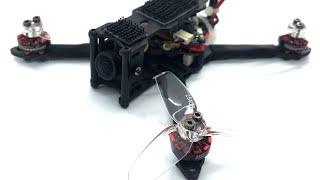 "Maiden Flight Larva X Conversion FPV micro qwad one pack 3s 2.5"" Sub 250g"