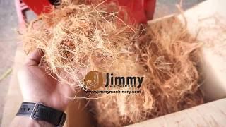 Mesin Hancur Sabut Kelapa Dan Cincang Rumput Napier Sawit Bela Lembu  2 WAY INLET By Jimmy Machinery