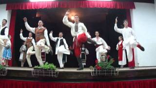 Народный сербский танец