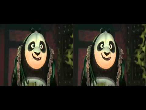 Kung Fu Panda 3   Official Trailor 3D(cross view)