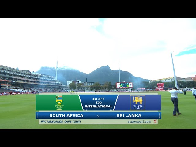 South Africa vs Sri Lanka| 1st T20 | Highlights