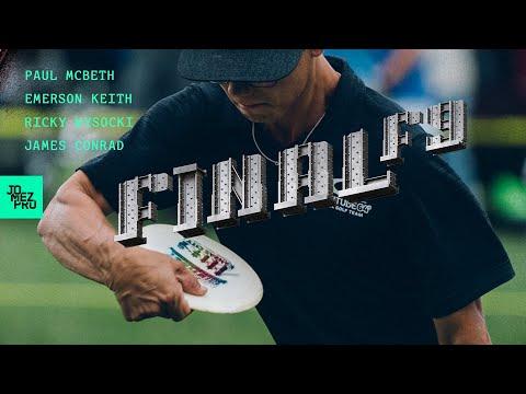 2019 DISC GOLF WORLD CHAMPIONSHIPSFINALF9Wysocki, McBeth, Keith, Conrad