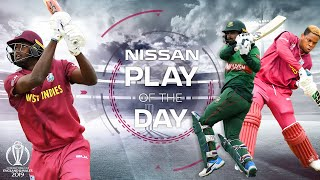 Insane Litton Batting! | Nissan Play of the Day | West Indies vs Bangladesh | ICC Cricket World Cup